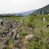 長良川の河川清掃を実施しました